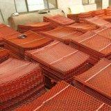 建筑红色上漆钢芭网 优质钢芭网 钢芭网片