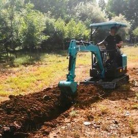 超小型挖掘机 国产小型轮式挖掘机 六九重工lj 加
