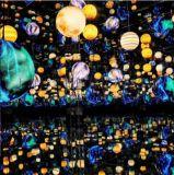 LED螢火蟲燈草坪互動花海滿天星螢火蟲燈定製直銷