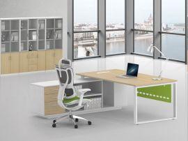 厂家直销办公台 广州定制简约现代公司钢木组合办公桌
