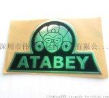 厂家制作小尺寸、超薄型不锈钢标牌,标签logo