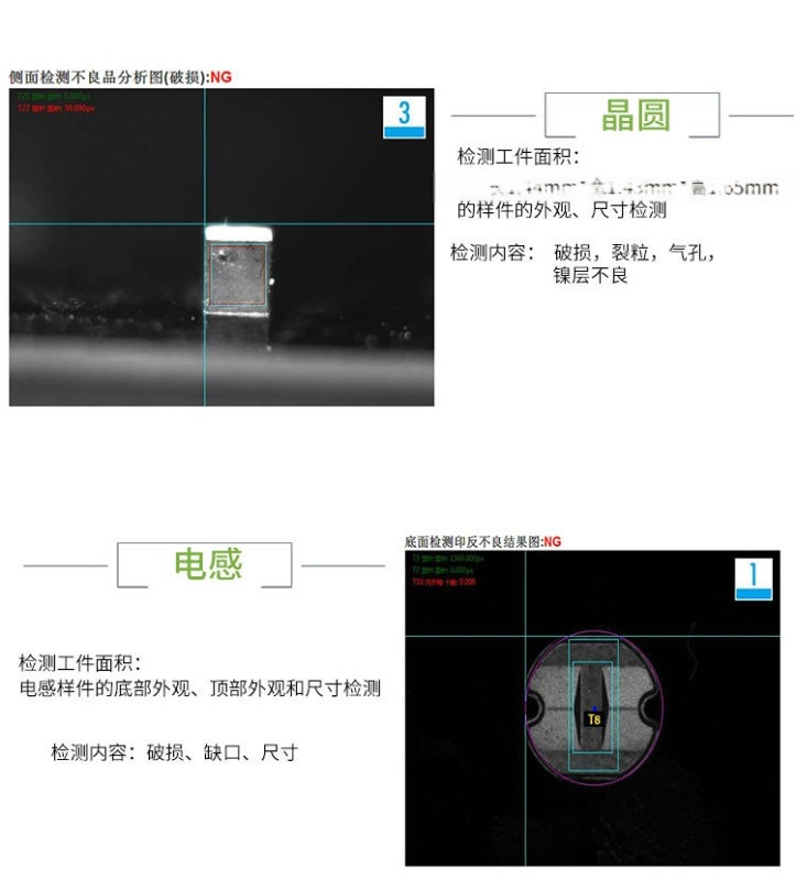 晶圓外觀缺陷檢測設備 視覺缺陷識別系統