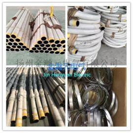 石棉橡胶管 水冷电缆套管夹布胶管 不锈钢钢带搭扣