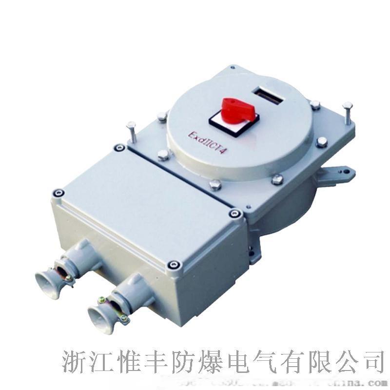 防爆断路器BDZ52防爆漏电保护断路器