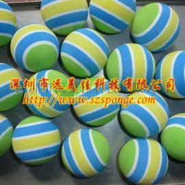 阿海绵圆球厂 海棉软球 弹力泡棉球