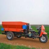 果园有机肥三轮撒肥车 自走式柴油三轮撒肥车