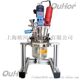 上海欧河实验室超声波恒温真空成套反应器