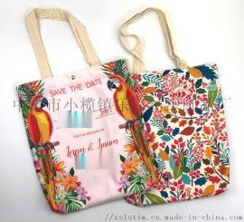 廠家定制數碼印滌綸購物袋