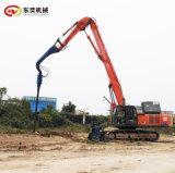 挖改液压钻机 工程地质钻孔螺旋钻机