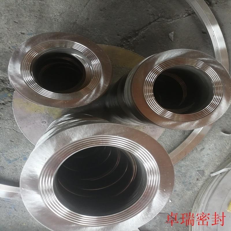 304不锈钢齿形垫片 齿形金属垫片 固定外环金属齿形垫片报价 卓瑞