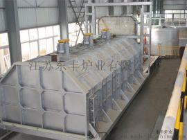 加热罩移动式台车炉-东丰炉业