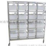 不鏽鋼平放式大鼠籠架/4層16籠大鼠籠架