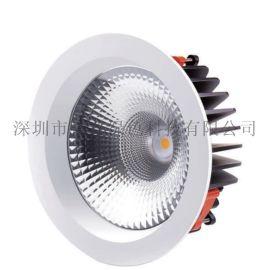 COB筒灯8寸40W品牌COB光源