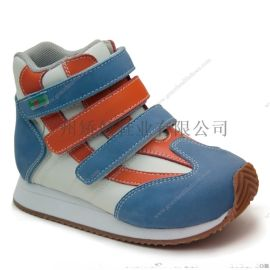 广州矫健外贸童鞋,运动矫正鞋,跟骨不正矫形鞋