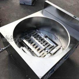 池州燃气油炸炉使用视频 德茹1米5豆泡油炸锅