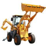 一头挖一头铲挖掘装载机  铲挖一体装载机