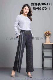 广州折扣女装 休闲女裤 牛仔裤 品牌女装货源
