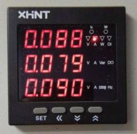 湘湖牌XH-WSK48-R温湿度控制器高清图