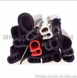 硅胶发泡海绵密封条 机械异形硅胶条 耐高温非标条