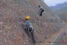 厂家直供钢丝绳、柔  边坡主动网 被动网