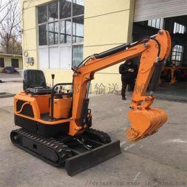 履带式小型挖掘机 适用于园林市政的小型挖掘机价格