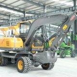 轮式挖掘机改装抓木机 加长款抓木机 耐力抓木机