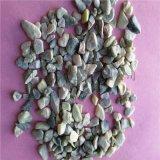 建筑铺路造景用洗米石 机制破碎石 环保胶粘石