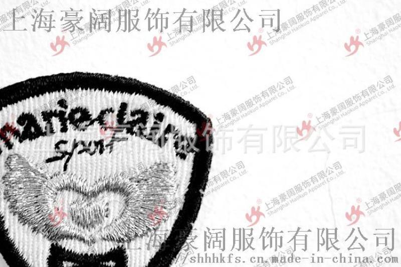 厂家直销 针织滴塑PVC商标 服装服饰辅料