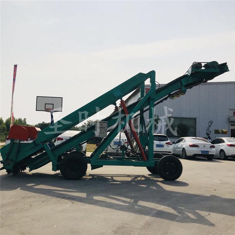 泉州青贮池取料方便电动扒草机多少钱 移动式取料机