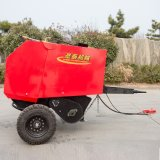 水稻秸稈打捆機 行走式打捆機 自動圓捆打捆機