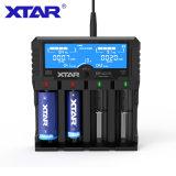 XTAR VP4 PLUS智慧多功能鋰電池充電器