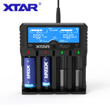XTAR VP4 PLUS智能多功能锂电池充电器