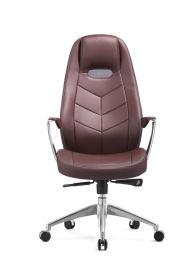 **五金皮椅  时尚现代经理椅 可躺老板椅