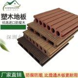 深圳昆鹏展厂家塑木地板防滑防腐环保景观工程地板