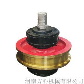 淬火调制天车主从动轮铸钢500支重轮起重机配件欧式车轮组单边轮