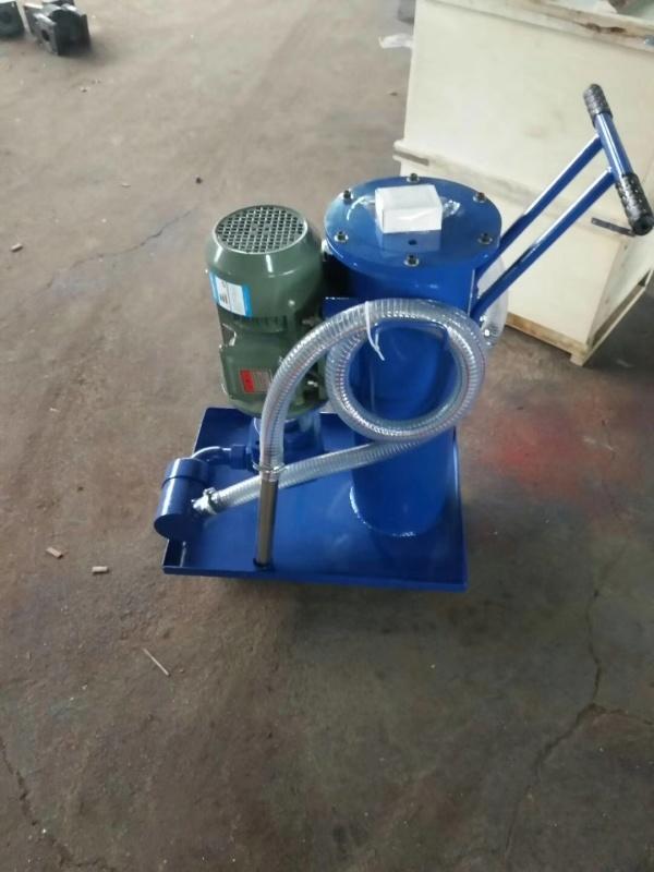 LUCB-100×10永科净化高效滤油机加油小车