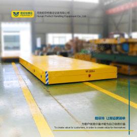 交流电轨道车钢轨运输平台10吨地轨轨道牵引车定制