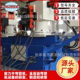 液压双头弯管机SW38 90°回转型 双头弯管机