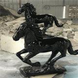 梅州玻璃鋼動物雕塑 文化廣場駿馬雕塑