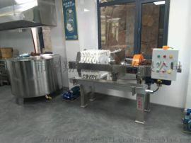 3平方板框式电动机械油脂过滤压滤机