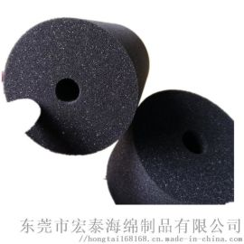 高密度电线海绵管套 电缆海绵 线束包装海绵管套