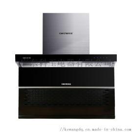 科王重庆厨卫电器品牌顶侧双吸一级能效吸油烟机T28