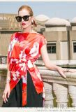 梦莎奴2020新款宽松苎麻拼接裙子服装拿货品牌