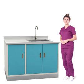 SKH036-15 顶柜/水池柜 简约水槽