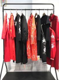 杭州品牌女装蒂夫格20夏折扣走份货源