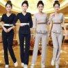 上海紅萬美容服 制服 工裝 服務服工作服定制