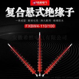 非线型复合绝缘子FXBW-110/70