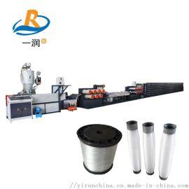 渔网线拉丝机 防雹网安检防护网拉丝生产设备