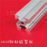 鋁型材2020 工業鋁型材 鋁方管 自動化框架 熱賣歐標鋁材 電泳
