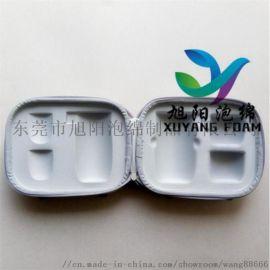 EVA泡綿複合萊卡布一體成型模壓加工熱壓成型箱包
